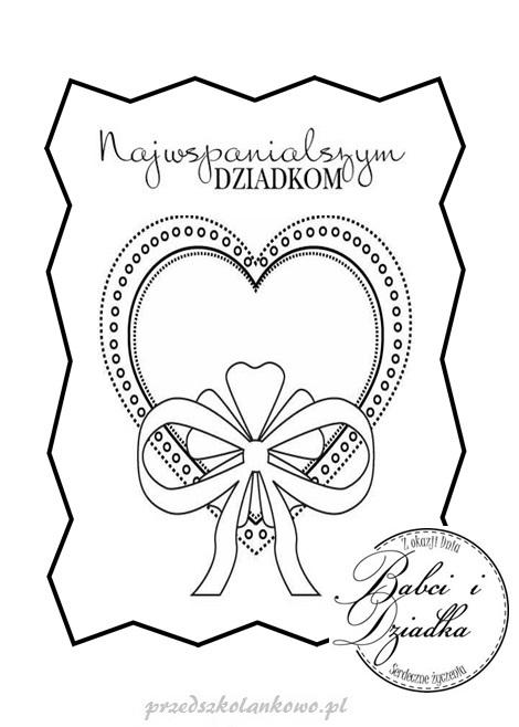 Dyplomy Dla Babci I Dziadka Upominki Przedszkolankowo