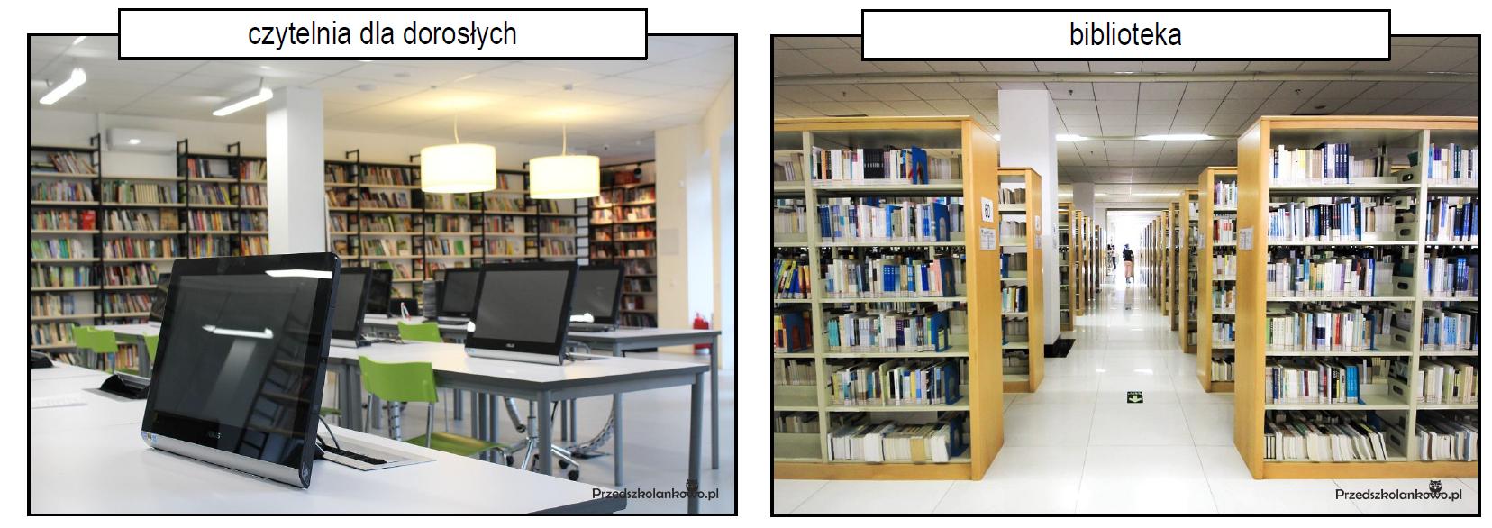 """Biblioteka"""" tekst + pomoce – Przedszkolankowo"""